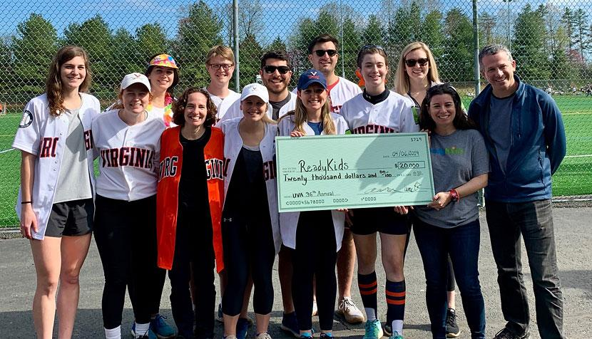 North Ground Softball League participants