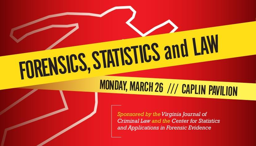 Forensics, Statistics and the Law