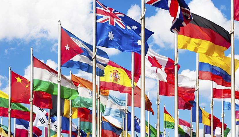 Nations' flags