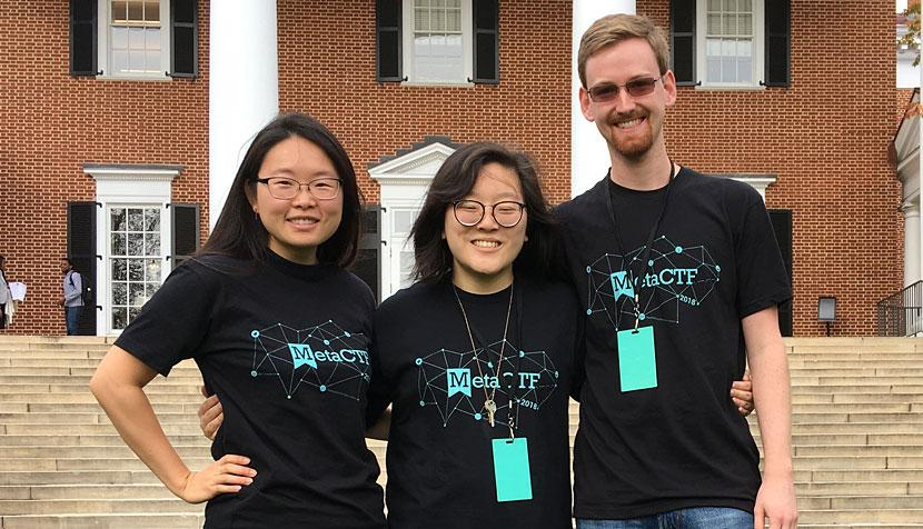Grace Tang, Christina Luk and Aaron Lines