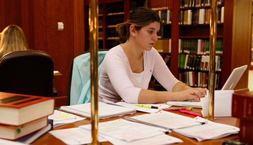 Studying student