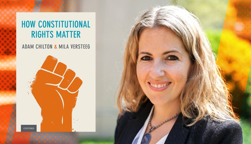 """Mila Versteeg and her book """"How Constitutional Rights Matter"""""""