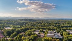 UVA Law from the air