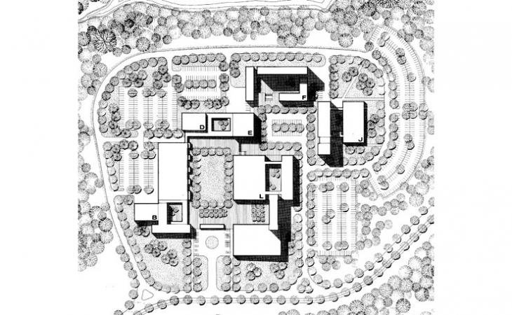 Original plans for North Grounds