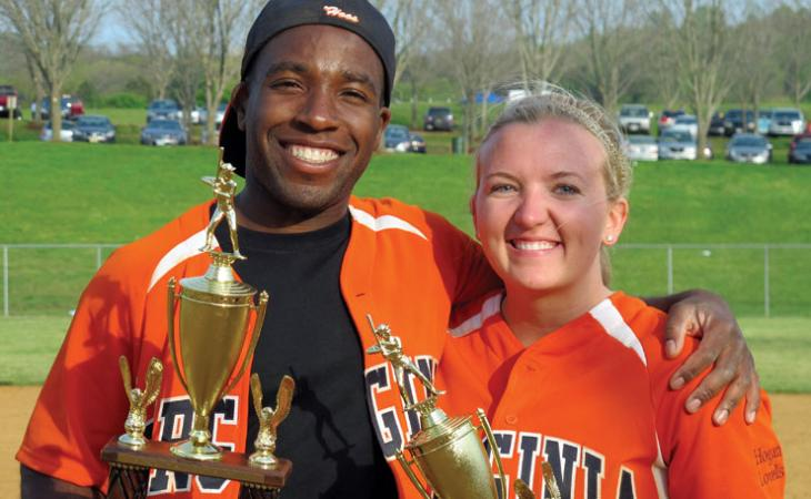 Ikenna Adams '12 and Kristen Bromberek '12