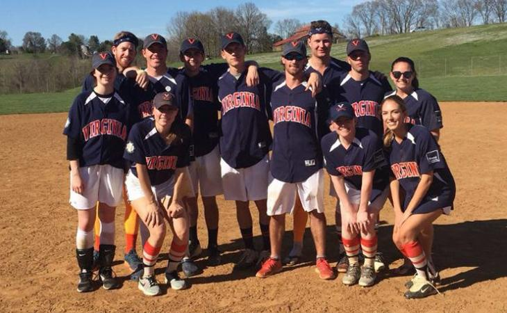 UVA co-rec gold team