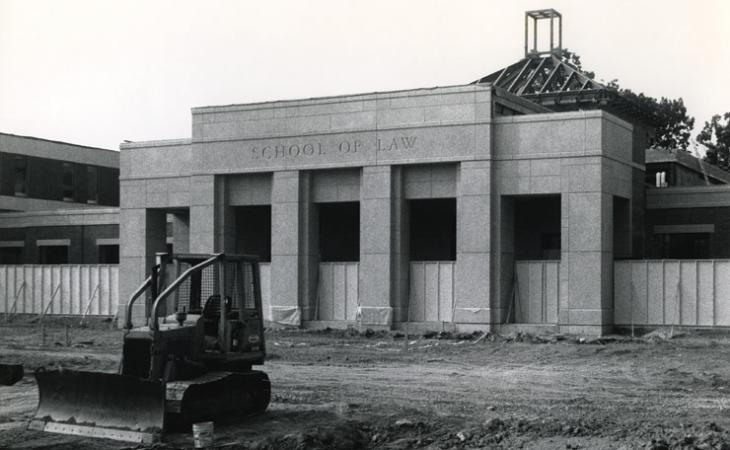 Construction of Clay Hall