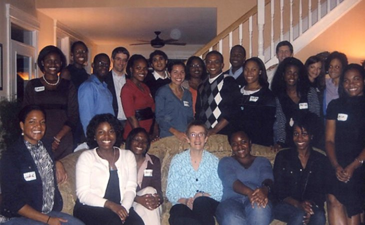 BLSA members with Anne Coughlin