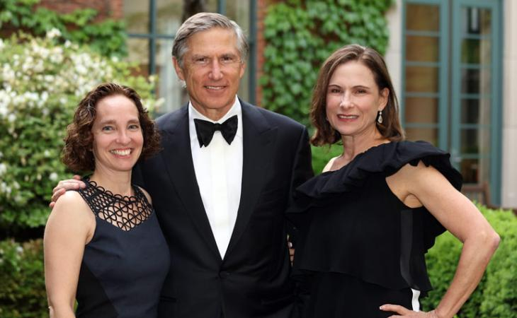 Dean Risa Goluboff with Martha and Bruce Karsh