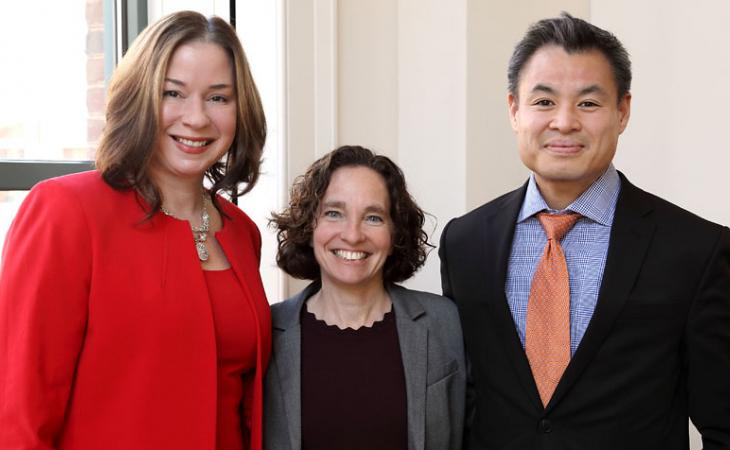 Julia Pierce, Chinh Q. Le and Risa Goluboff