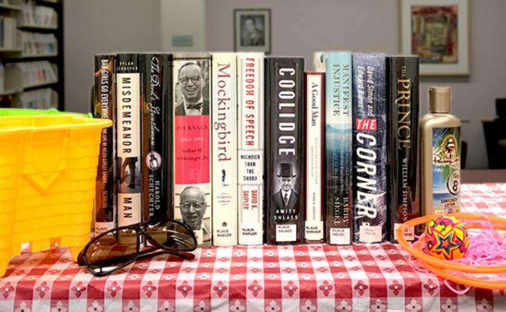 Library books for the summer