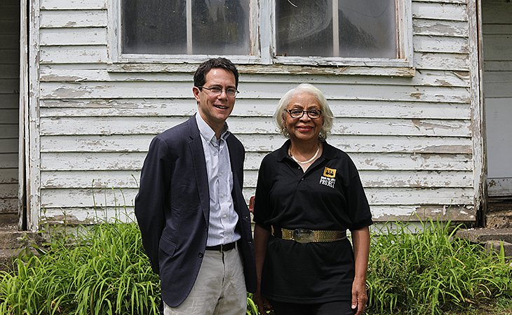 Cale Jaffe and Muriel Branch