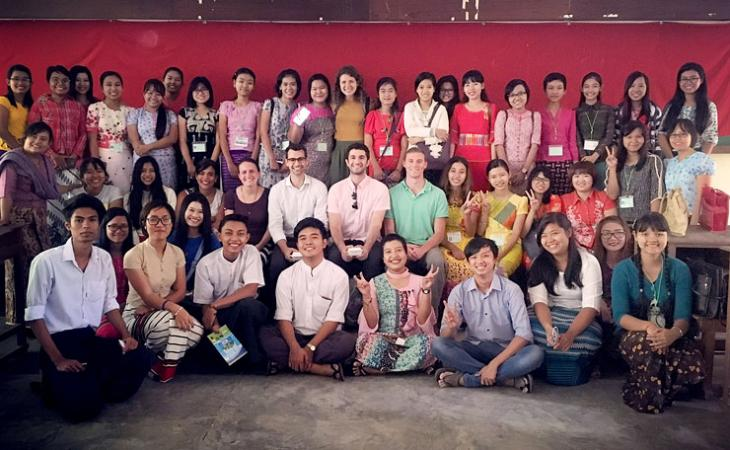 Project members visited the University of Dagon in Yangon for research and discussion.