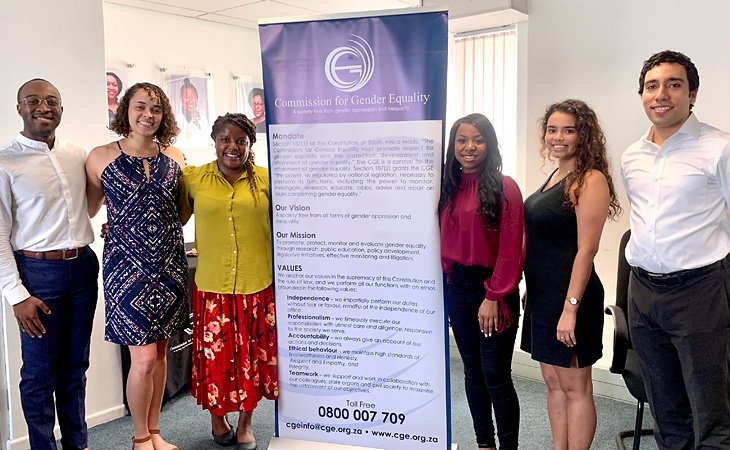 Students present findings on Commission for Gender Equality