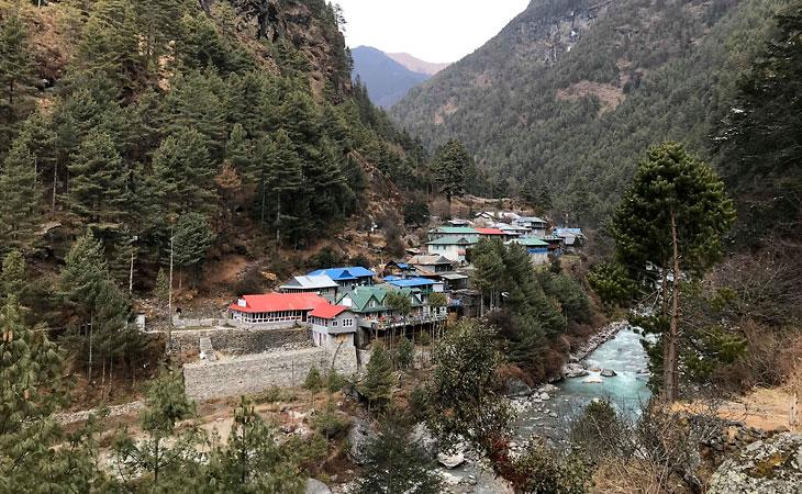 Village near Everest Base Camp