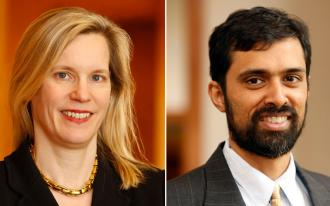 Julia Mahoney and Saikrishna Prakash