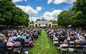 Graduation at UVA Law