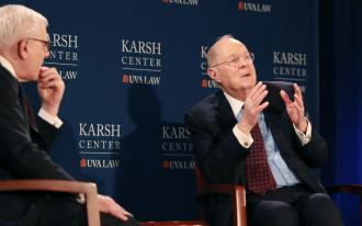 David Rubenstein and Anthony Kennedy