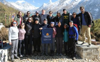 UVA Law students and alumni in Nepal