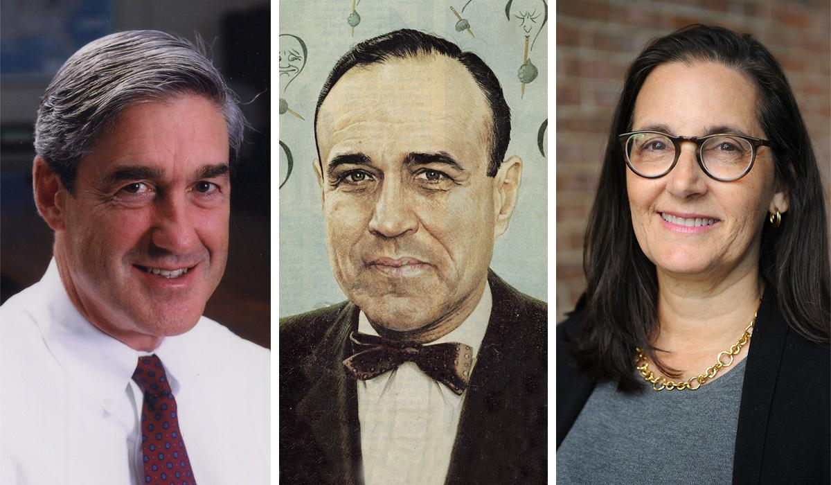 Robert Mueller, Mortimer Caplin and Joyce White Vance