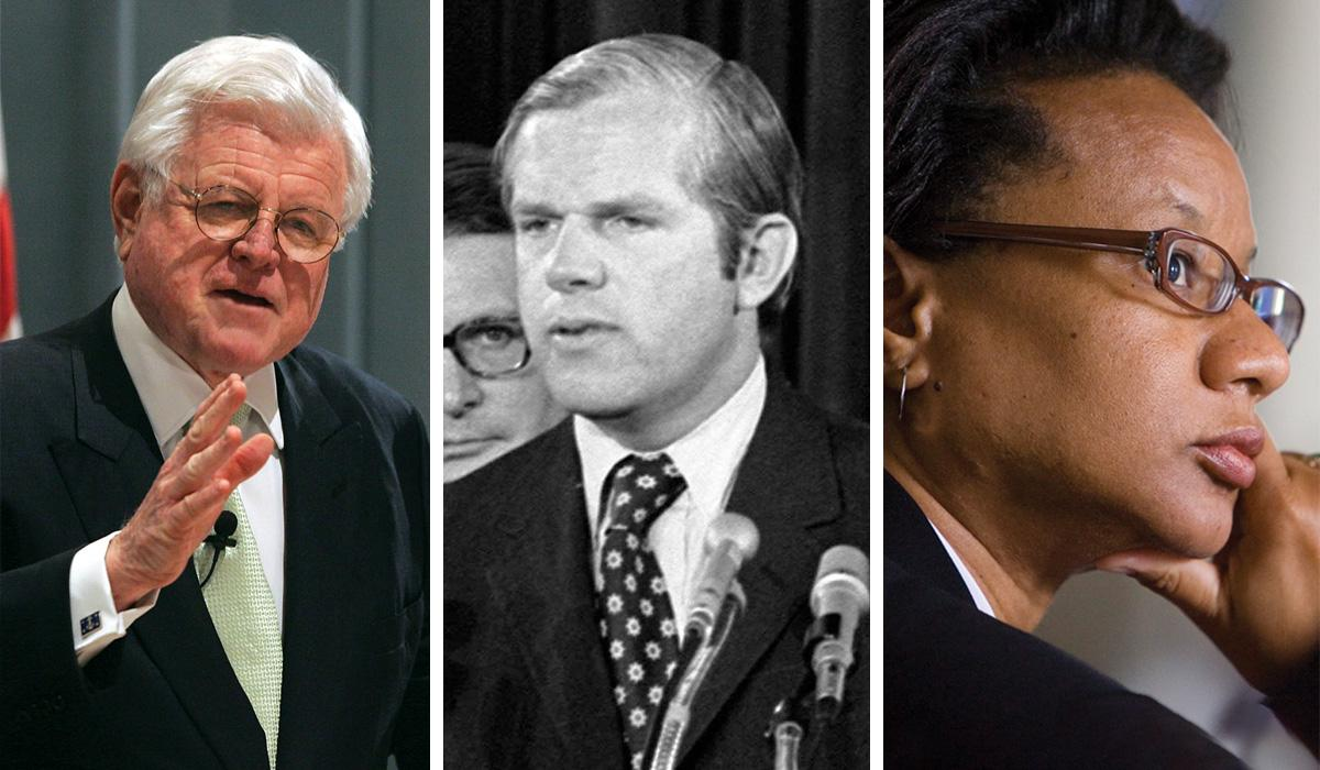 Ted Kennedy, George Beall and Glynn Key