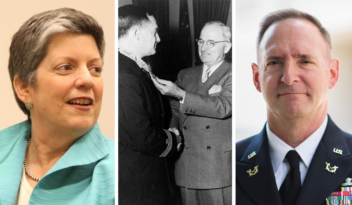 Janet Napolitano, Arthur Murray Preston and Lt. General Charles Pede