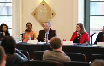 A panel of experts from the University of Virginia and Monticello