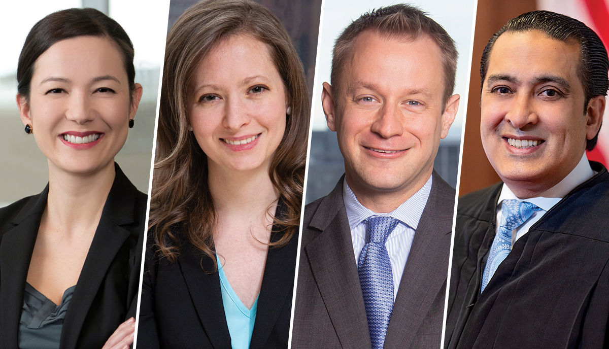 Laura Prebeck Hang, Allison Muth, Gavin White and John Nalbandian