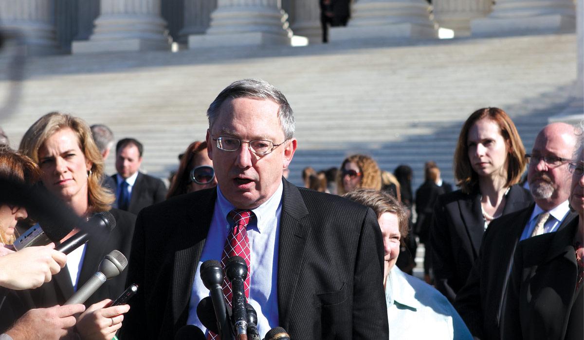 Doug Laycock at the Supreme Court