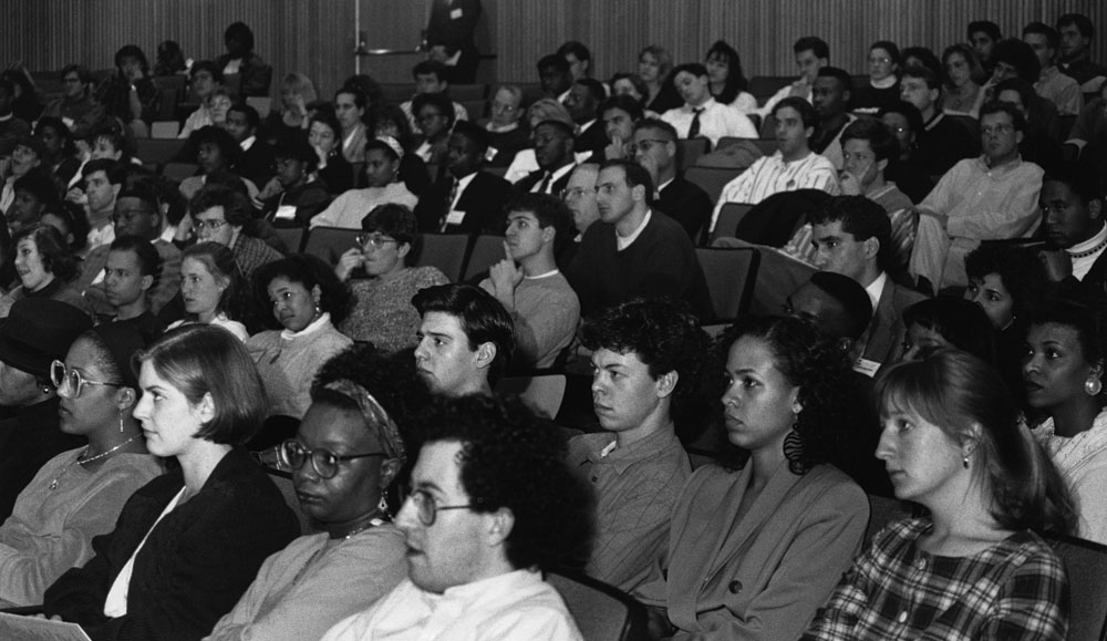 Students at a SUPRA conference