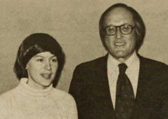 Holly Fitzsimmons and Justice William Rehnquist
