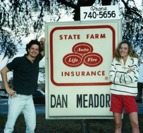 Dan Meador sign