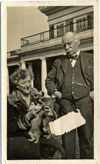 Catherine Lipop Graves and Professor Charles A. Graves
