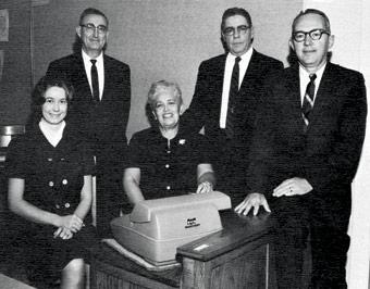 Ruth Taliaferro with Willard Leeper