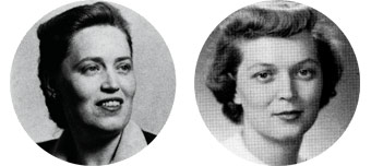 Ruth Taliaferro and Elizabeth Taliaferro