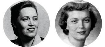 Ruth Taliaferro and Elizabeth Taliaferro