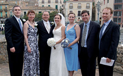 Erica Bachmann and Andrew Cerminara were married on April 18 in Pizzo Calabro (VV), Italy.