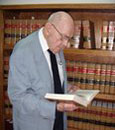 Benjamin F. Sutherland '49 at law office