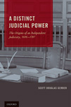 a distinct judicial power