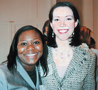 Earsa Jackson '98 and Kay Lynn Brumbaugh '98
