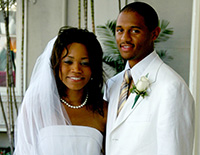 Tiffany Marshall and James Graves III