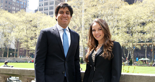 Ravi Agarwal �09 and Anna Shearer �07