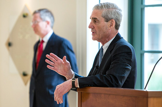 FBI Director and Jefferson Medal Recipient Robert Mueller '73