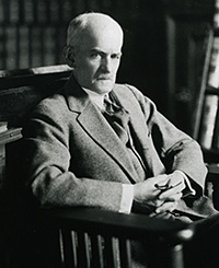 William Minor Lile, the first dean of the Law School