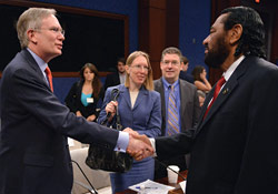 Mahoney testifies before Congress
