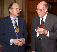 Professor Howard and Chief Justice Rehnquist