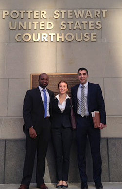 Appellate Litigation Clinic students