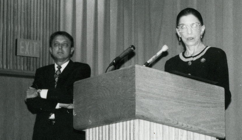 Ginsburg as Jefferson Medalist