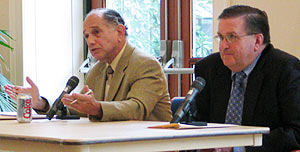 Levy, left, and Walker