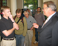 Garry Wills meets students